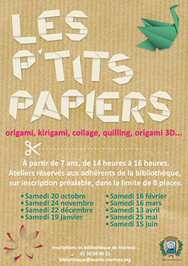 Affiche dates animation